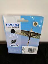 GENUINE EPSON T0441 TO441 Black cartridge vacuum sealed ORIGINAL PARASOL OEM ink