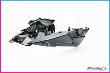 PUIG UNTERER DECKSCHUTZ FUR YAMAHA MT-09 TRACER GT-AUSPUFF AKRAPOVIC 2018 CARBON