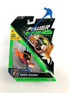 JAKKS Power Rippers Robotix Series 1 Tiger Shark Single Pack