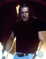 TRIPLE H WWE PHOTO OFFICIAL WRESTLING 8x10 PROMO wwf DX HHH THE GAME