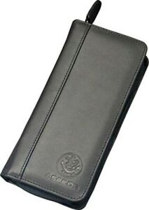 Sailor Fountain Pen Genuine Leather Portable Case for 3 pcs Black 37-9040-220