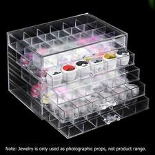 5 Layers Drawer Clear Acrylic Storage Box Nail Polish Rack Makeup Organizer Box