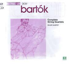 CD APEX 2 CD KEELER QUARTET - BARTOK STRING QUARTETS 1-6