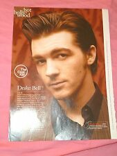 Drake Bell teen idol young sexy magazine clipping pin up