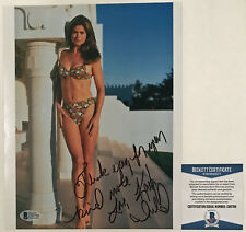 BEAUTIFU!!! Kathy Ireland SPORTS ILLUSTRATED Signed 8x10 Photo #2 Beckett BAS