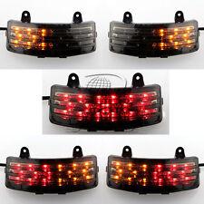 Smoke Tri-Bar Fender LED Tail Brake Signal Light for Harley Street Glide Motor