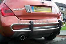 Fits Nissan Murano 2003-2008 Stainless Steel Rear Bar Skid Bumper Bar Protection