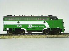 "Mrc Ho R-T-R ""Burlington Northern"" F7A Power Locomotive #759"