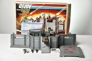 Vintage GI JOE - PLAYSET 1983 HEADQUARTERS COMMAND CENTER 100% COMPLETE - HASBRO