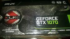 PNY NVIDIA GeForce GTX 1070 8GB GDDR5 PCI Express 3.0 VCGGTX10708XGPB-OC-BB Card