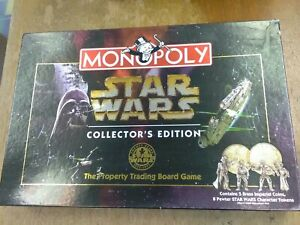 Star Wars  Monopoly Limited Collectors Edition 1999 - complete  T441