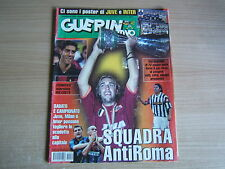 GUERIN SPORTIVO=N°34 2001=BATISTUTA ROMA=NO POSTER INTER JUVENTUS=