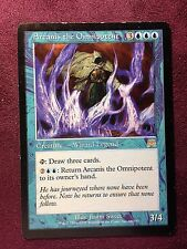 Arcanis l'Omnipotent    VO  MTG PLAYED (see scan)