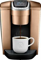 Keurig - K-Elite Single-Serve K-Cup Pod Coffee Maker - Brushed Copper