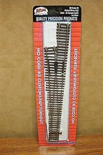 ATLAS HO SCALE CODE 83 #6 CUSTOMLINE TURNOUT (left)) Nickel Silver Rail