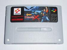 SNES Super Famicom - Castlevania Dracula X