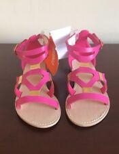 NWT GYMBOREE Spice Market Girls Pink Gladiator Sandals Shoe Size 10