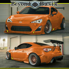 2013 2014 2015 2016 Scion FRS FR-S 2Pc Side Skirts + Front Bumper Lip Body Kit