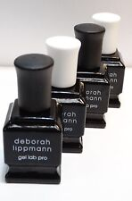LOT OF 4 **** DEBORAH LIPPMANN GEL LAB PRO    (SET OF 4)****   .27 OZ. EACH