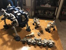 Lot of Vintage Zoids Robot Action Figure Tomy Parts Misc