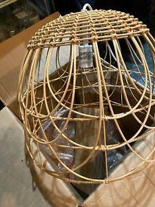 *NIB* Opalhouse Rattan Pendent Lamp W/15ft cord