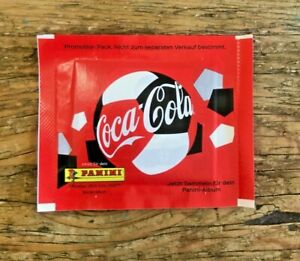 Panini UEFA EURO 2020 Sealed Coca Cola Packet including Impossible Sticker