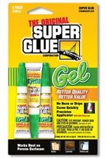 The Original Super Glue - Gel - 3 QTY - .07oz Tubes. (LOT OF 6, 18 Tubes Total)