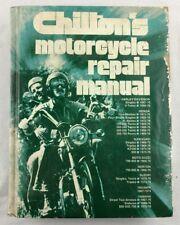 Chilton's Motorcycle Repair Manual 1976 Harley-Davidson Honda Kawasaki Yamaha...