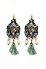 Markenloser Mode-Ohrschmuck im Hänger-Stil mit Perlen (Imitation) für Damen