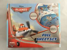 Disney Planes Super Soft & Comfortable Microfiber Full Size 4-Piece Sheets Set