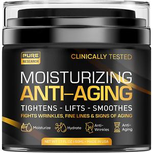Men's Face Cream Moisturizer - Anti-Aging Cream For Men, Collagen, Retinol & - &