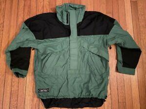 Vintage 90s Wave Rave Ski Snowboarding Jacket - Large - Boulder Colorado USA