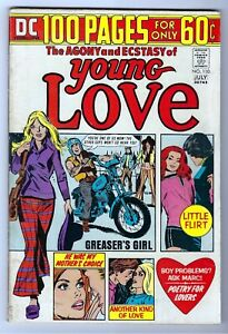 Young Love #110 1974 GD+/VG (3.0) Qualified VG+/Fine Except Loose Page 5/6