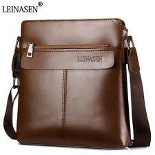 Men Shoulder Messenger Male Leather Crossbody  Man Travel Briefcase Bags