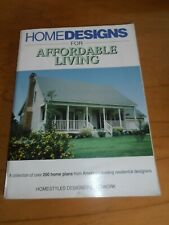 HOMEDESIGNS Affordable Living House Plans Catalog.