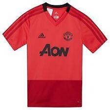 Manchester United Adidas Aon Training Kit (Pink) Mens Small