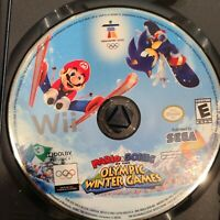 Mario & Sonic at the Olympic Winter Games /Nintendo Wii/Vancouver 2010 Disc Only