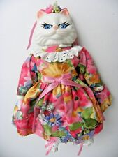 """Goebel Victoria Ashlea Originals White Cat 8.5"""" w/ Stand Limited Only 2000 Made"""