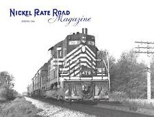 Nickel Plate Road Spr. 1986 Freight Car Survivors Passenger Timetables Study