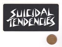 SUICIDAL TENDENCIES Sticker-Epitaph PUNK O RAMA Record-Punk Rock-Promo Decal-