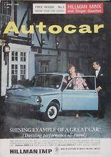 Autocar magazine 2 April 1965 featuring Alvis TE21S road test, Volvo