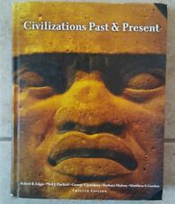 CIVILIZATIONS PAST & PRESENT 12th Edition Combined Volume Used Book