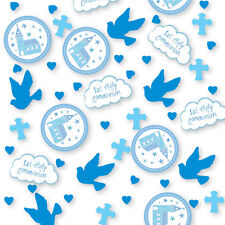 1st HOLY COMMUNION CHURCH BLUE/BOY Party Range Tableware & Decorations%7bAMSCAN%7d1C