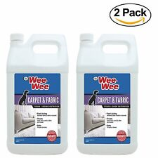 Four Paws Wee-Wee Pet Stain and Odor Remover 1 Gallon (Pack Of 2)