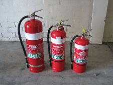 3 x Fire Extinguishers 9kg 4.5kg ABE