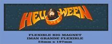 "HELLOWEEN ""PUMPKINS UNITED"" FLEXIBLE BIG MAGNET IMÁN GRANDE"