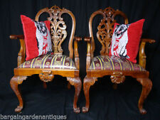 Mahogany Antique Style Chairs 2 Pieces