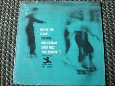 Frank Wess lp Wheelin' and Dealin' John Coltrane Paul Quinichette New Jazz 8237