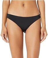Skin 186669 Womens The Selby Hipster Bikini Bottom Swimwear Black Size Large
