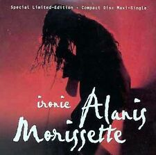 Alanis Morissette - Ironic CD With 3 Live Treated With Audioprism Green Pen
